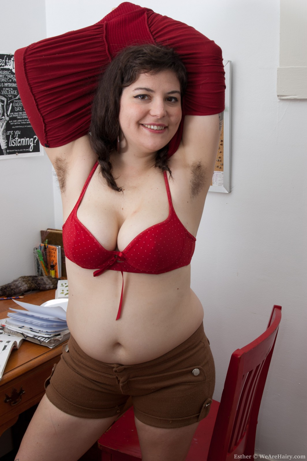 Hairy pussies puffy nipples