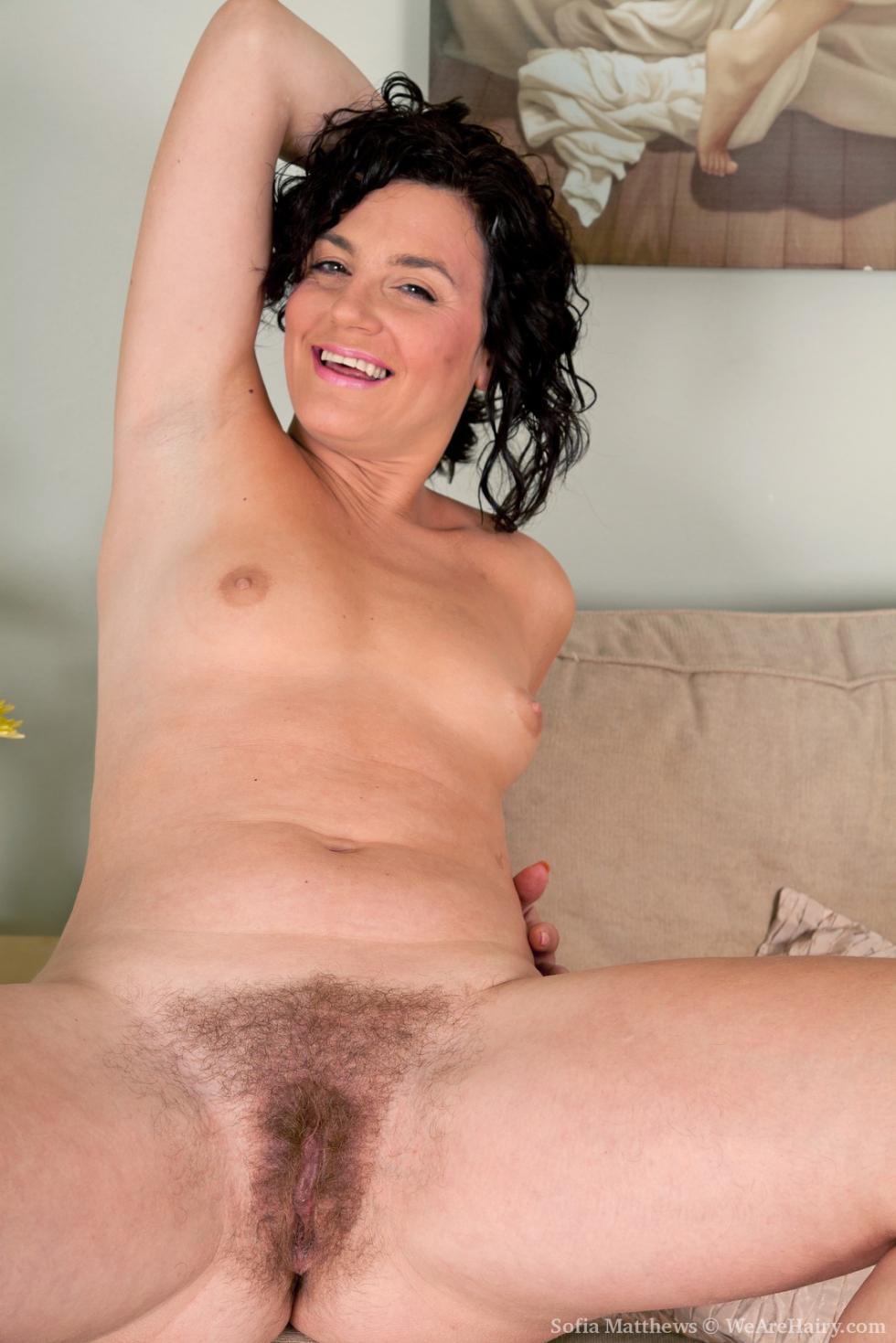 hairy Sofia matthews